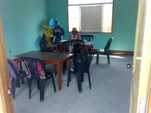 Ein Klassenzimmer im casa lentch