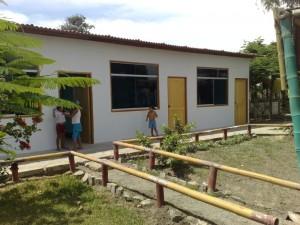 Klassenzimmer im casa lentch