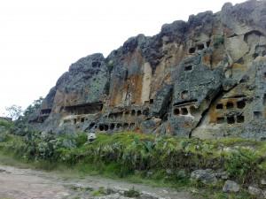 Grabstätte in Otuzco