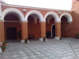Ein Gang im Monasterio Santa Catalina