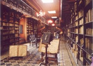 Die Bibliothek des Monasterios San Francisco