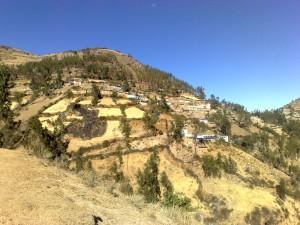 Colcabamba, Ein Bergdorf in den Anden.