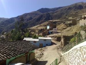 Colcabamba, ein Bergdorf in den Anden