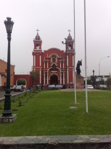 "Die Kirche ""Santuario de Santa Rosa de Lima"""
